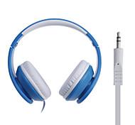 ilead conector de 3,5 mm para auriculares diadema estéreo de alta fidelidad universal para el teléfono, mp3, tablet, psp (colores