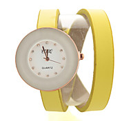 Watch Women PU Band  Quartz Analog Wrist Watch (Assorted Colors)