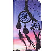 Dreamcatcher Pattern PU Leather Case with Card Slot and Stand for Samsung Galaxy S4 mini/S3mini/S5mini/S3/S4/S5/S6