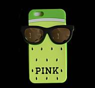 rocs silicium 3d rose arrière en verre pour iPhone 6 / 6s