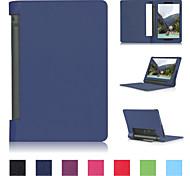 """8-Zoll-Lichee Muster-Qualität PU-Leder für Lenovo Yoga-Registerkarte 3 8 """"(verschiedene Farben)"""