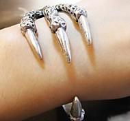 Fashion Retro Lady Silver Eagle Claw Bangle Jewelry Bracelet
