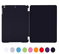 Natusun™ Solid Color PC Pan amd PU Leather Case with Leisure Ultrathin for iPad Air/iPad 5(Assorted Colors)