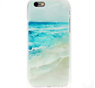 For iPhone 6 Case Pattern Case Back Cover Case Scenery Soft TPU iPhone 6s/6