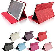 Palast Blumenmuster PU-Leder Ganzkörper-Fall mit Ständer für iPad Luft / ipad 5 (verschiedene Farben)