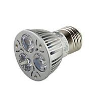 3W E26/E27 LED Spot Lampen A50 3 High Power LED 300 lm Warmes Weiß Dekorativ AC 220-240 / AC 110-130 V 1 Stück
