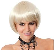 venda quente do cabelo reto louro curto europeu e americano
