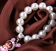 Charm Women Jewelry Gift Lovely Pink Rabbit Pearl Bracelet
