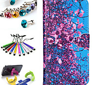 Geometric Pattern PU Leather Phone Holster Includes Stand Anti-dust Plug stylus, for Samsung Galaxy A5
