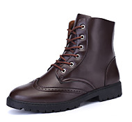 Men's Shoes Outdoor / Athletic / Casual Boots Black / Brown
