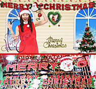 Width Cross Brace Decoration Christmas Letters Merry Christmas