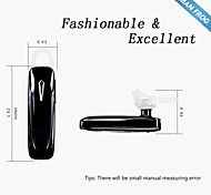 oreillette bluetooth voix anglaise homme invite Frog® mf-EH101 noir pour apple iphone 6s, plus Google Android Huawei Samsung