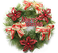 Christmas 30cm Red Ornament Wreath