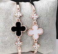 Fashion Korean Style Clover Bracelet Bangle