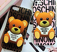 Cute Cartoon Bear Cuper Thin Wrapping TPU Soft Cases for iPhone6/iPhone 6s(Assorted Colors)