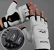 Boxing Gloves Fingerless Gloves Women's / Men's Breathable Boxing PU White / Black