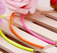 Pendant Chain Short Choker Necklace Women Jewelry