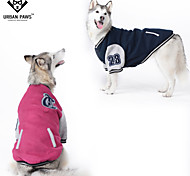 Dog Coats / T-Shirt - 4XL / 5XL / 6XL - Spring/Fall - Red / Blue - Cosplay - Mixed Material