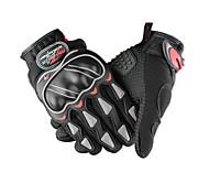Guantes de moto Dedos completos Nailon L Negro