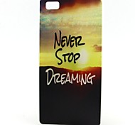 For Huawei Case Case Cover Other Back Cover Case Word / Phrase Soft TPU for Huawei