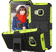 Rüstung Fall Hybrid Ständer Display-Abdeckung Combo harte PC + TPU Tasche für HTC e9 / e9 plus / m8 / m9 / Wunsch 820 Mini-