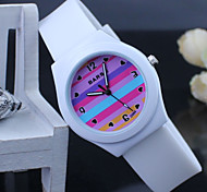 Children's colorful Silicone Band Quartz Analog Wrist Watch Cool Watches Unique Watches