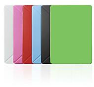 Умные Обложки/Оригами Случаи (Кожа PU , красный/черный/белый/зеленый/синий/розовый) - Основной цвет - Яблоко iPad mini/IPad мини 2/Ipad мини 3