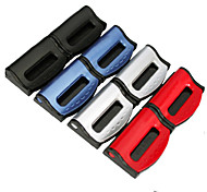 Car-styling Seatbelts Clips Adjustable Stopper Holder Plastic Clips For Vehicles 2pcs