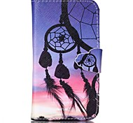Dreamcatcher Pattern Full Body Cover with Card Slot for GALAXY CORE Prime