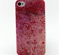Kirschpulverlackierung Muster TPU weiche Tasche für iPhone 4 / 4S