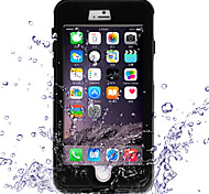 caso da tampa da sujeira snowproof à prova de choque à prova d'água para iphone6 maçã mais (cores sortidas)
