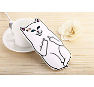 Silicone Material Pocket Cat Style for iPhone 6/6S