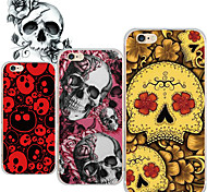 MAYCARI®Skull Singing TPU Back Case for iPhone 6/iphone 6S(Assorted Colors)