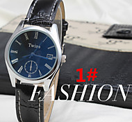 Blu-Ray Disc Version Of The New Men's Korean Fashion Personality Mirrors Watches Roman Calendar (Assorted Colors)