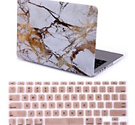 """2015 New White Marble Hard Case Cover +keyboard  Cover for MacBook Pro 13.3"""" /15.4"""""""
