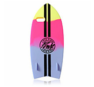New Phone case Hot Sale Fashion  Soft Silicone Surfboard Cover For iPhone 5/5S (Assorted Colors)
