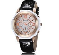 Fashion casual watch three rose gold shell