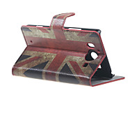 Vintage UK Flag Wallet Leather Stand Case for  Microsoft Nokia Lumia 950 N950