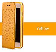 2015 neue Raster Schlag PU-Leder Schutzhülle für iPhone 4 / 4S (farbig sortiert)