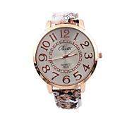 Ladies' Watch New Hot Fancy Watch Strap Large Dial Quartz Watch