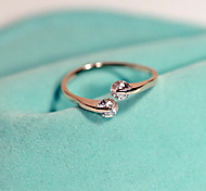 European Style Fashion Rhinestone Sweet Retro Ring