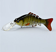 Hot 12 CM 14.5 Gram Floating Segmented Swim Bait Life Like Top Water Fishing Lures for Fishing