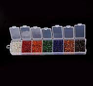 1 Box/82g Beads - di vetro