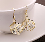 European And American Fashion Lady Joker Zircon Earrings