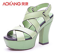 Aokang® Women's Leather Sandals - 132818098
