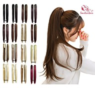 smilco PIC per capelli 22inch 55 centimetri 100g / pcs artiglio dritto coda di cavallo 17 colori posticci opzionali ponytail estensione