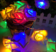 20 lamp rose battery box lamp string