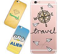 MAYCARI®Random TPU Back Case for iPhone 6/iphone 6S(Assorted Colors)