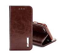 Top Grade Business Genuine Flip Leather for iPhone 7 7 Plus 6s 6 Plus SE 5s 5 4s 4