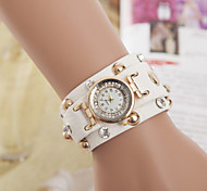Woman And Men Rivet Punk Chain Strap Bracelet Wrist Watch Cool Watches Unique Watches Fashion Watch